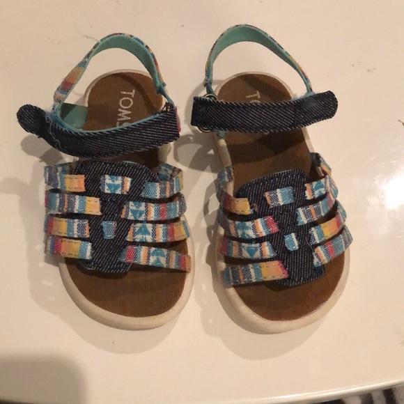 Toms Shoes | Infant Sandals Size 6